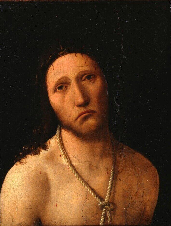 Antonello da Messina Hecce Homo @PierPaoloBocci1 @Vandabio @lescout74 @geminicat7 @zitabianca @TommasoIorio  Buondi'♡ pic.twitter.com/7QAdeGXI77