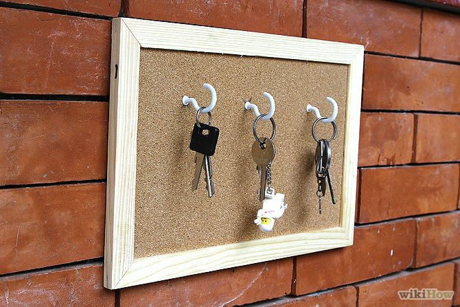Make A Picture Frame Key Holder Diy Ideas Craft And Upcycle