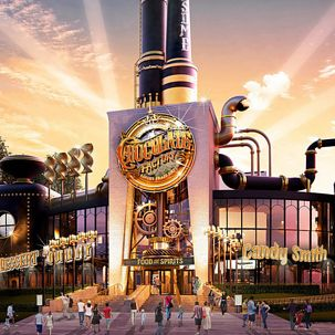 Universal Studios is opening Toothsome Chocolate Factory, a chocolate restaurant that looks like it's straight out of Charlie and the Chocolate Factory.