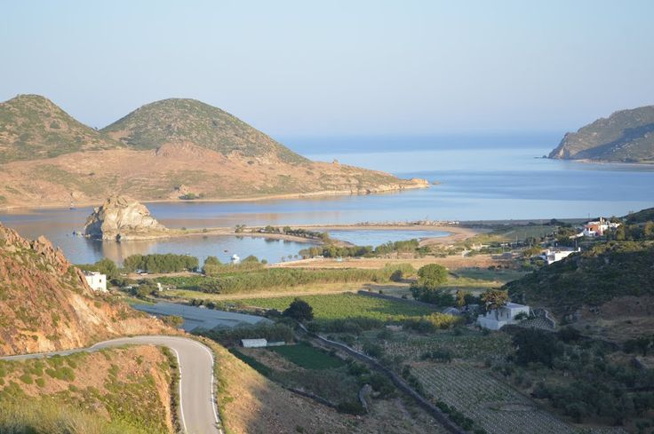 Patmos has an indented coastline and topography creates good conditions for the formation of beaches.