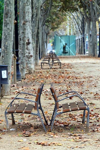 Autumn in Barcelona by NovermberRain, via Flickr