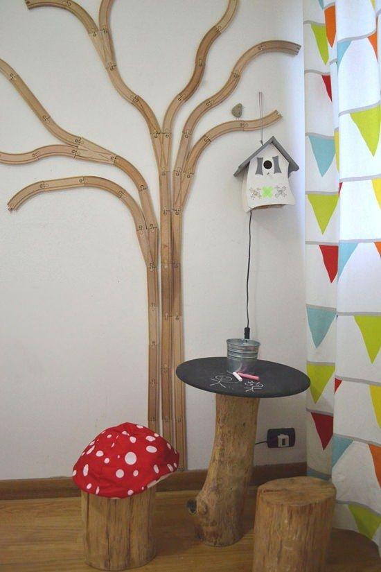 habitacion niños arbol Hacks de Ikea para un dormitorio infantil