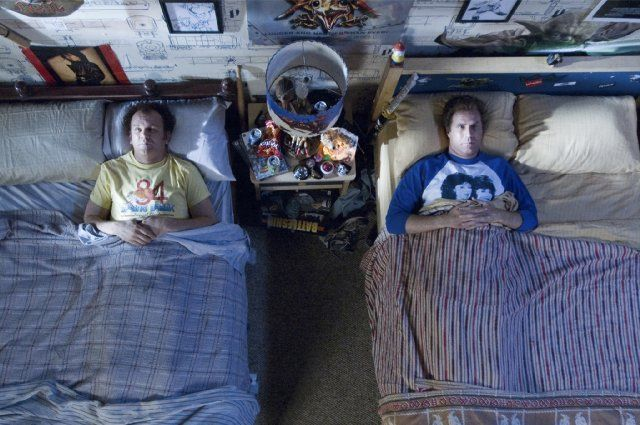 Step Brothers- Did we just become best friends? Yep! Your voice is like a combination of Fergie and Jesus. Why are you so sweaty? I was watching cops. Hey man, did you touch my drum set? Dad! What are you doing? It's Shark week!