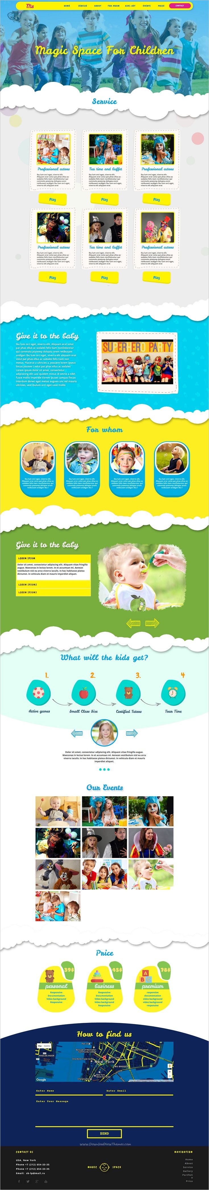 Ms is beautifully design multipurpose #Adobe #Muse template for #kids, picnic, parties, #events, fundraisers, schools websites download now➩ https://themeforest.net/item/kids-party-eventsmuse-template/19219341?ref=Datasata