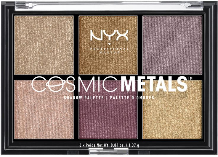 Nyx Cosmetics Cosmic Metals Shadow Palette | Ulta Beauty