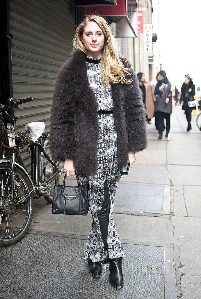 Street Style at New York Fashion Week Fall 2013 | POPSUGAR Fashion