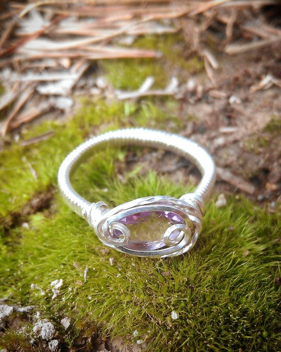 Check out this item in my Etsy shop https://www.etsy.com/listing/199959172/siren-amethyst-birthstone-sterling This Amethyst ring is on sale <3 Just $22.99!
