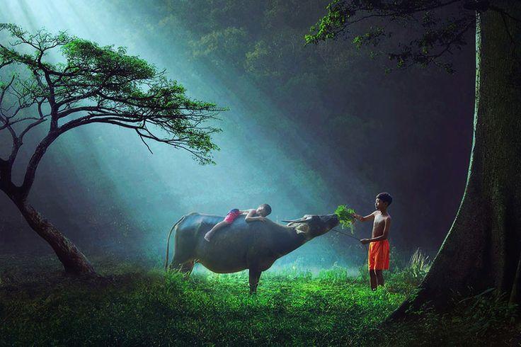 30 Magical Photos Of Children Playing Around The World | Bored Panda
