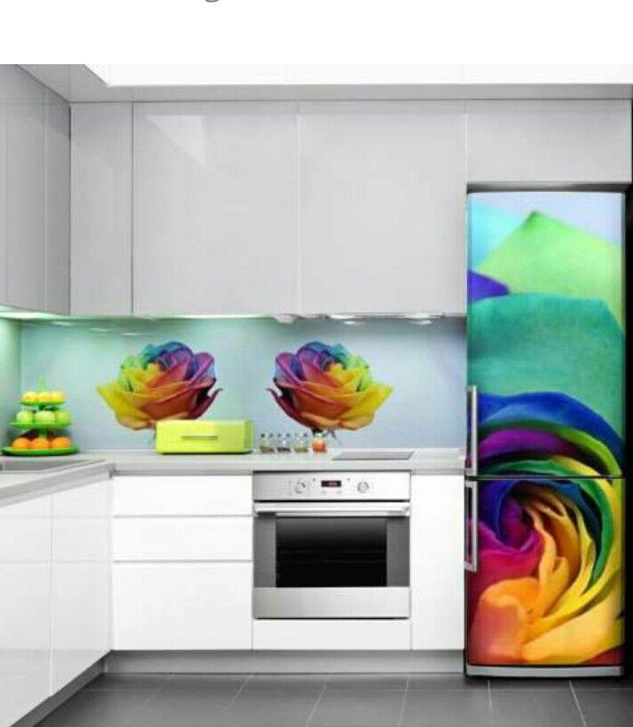 Stylish kitchen to brighten up a day