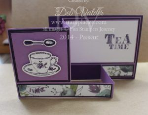 tea-time-summer-romance-printed-paper-box-card-fancy-fold-z-fun-stampers-journey-deb-valder-richard-garay-stampladee-3                                                                                                                                                                                 More