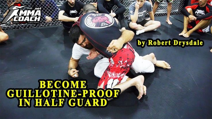 Become Guillotine-Proof in Half Guard by Robert Drysdale