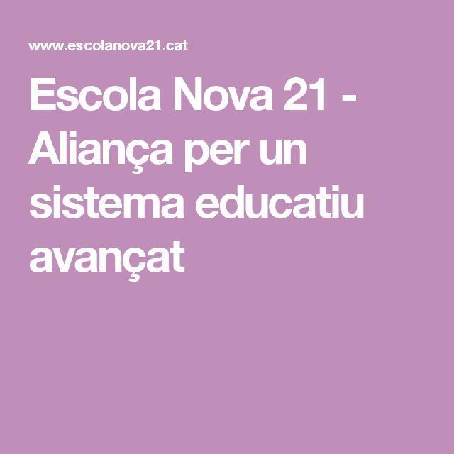 Escola Nova 21 - Aliança per un sistema educatiu avançat