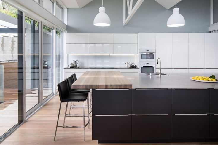 Marlborough Sounds ALNO Kitchen - Australasian Dulux Colour Awards - alno küchen fronten