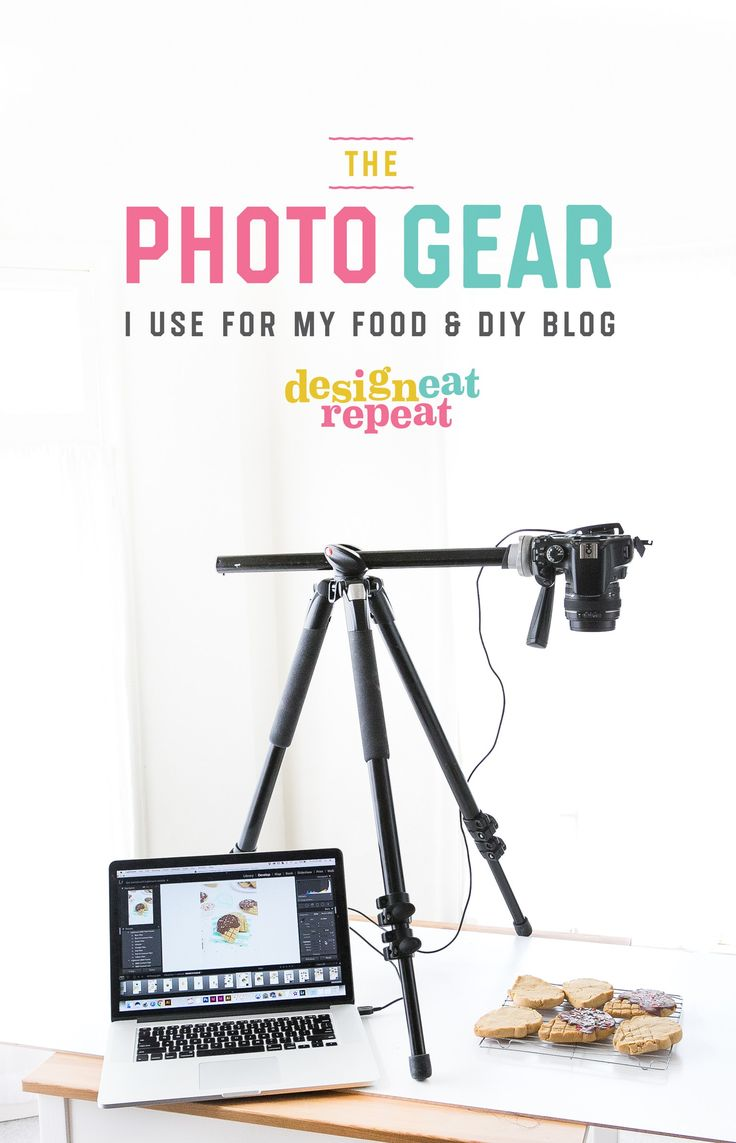 The Photography Equipment I Use For My Food & DIY Blog