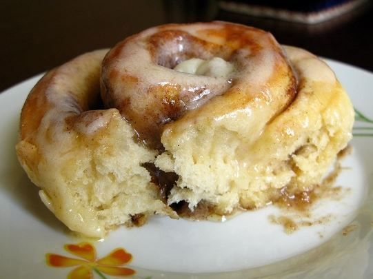 Easy Cinnamon Rolls Ingredients 1 (1/4 ounce) package active dry yeast 1 cup warm milk ½ cup granulated sugar ⅓ cup butter 1 teaspoon salt 2 eggs 4 cups flour Filling: 1 cup packed brown sugar 2½ t…