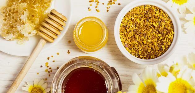 خلطة العسل وغذاء ملكات النحل وحبوب اللقاح والعكبر وفوائدها للرجال والسيدات Morning Breakfast Healthy Healthy Organic Breakfast Honey Breakfast