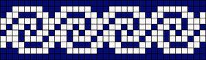 Alpha Friendship Bracelet Pattern #14178