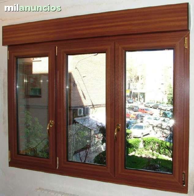 ventanas de pvc a medida de todos los modelos y colores a precio muy econ