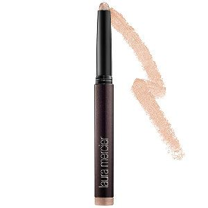 Laura Mercier - Caviar Stick Eye Colour  in Rose Gold #sephora  This is a a makeup product that can be used quickly, applied with fingers and gives great pigmented color