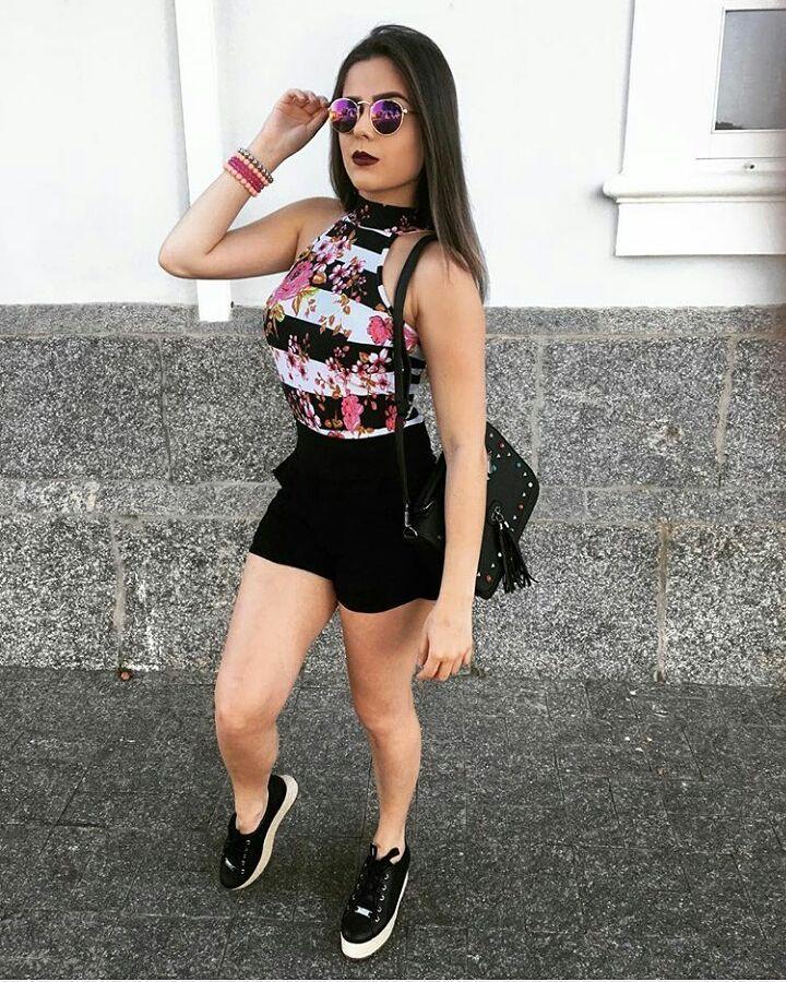 "1,000 Me gusta, 17 comentarios - Moda feminina & afins (@modafemininaeafins__) en Instagram: ""Look da noite, gostaram? . . Ativem as notificações . . . . · · · · ·#blogueira #blogger #blog…"""