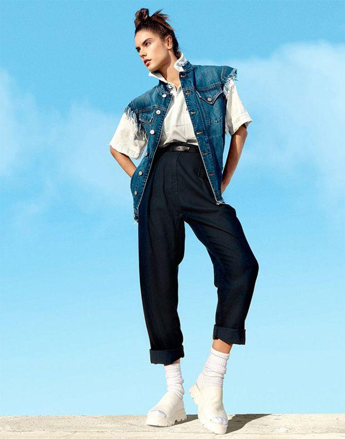Алессандра Амбросио в кавер-стори Harper's Bazaar Singapore (Интернет-журнал ETODAY)