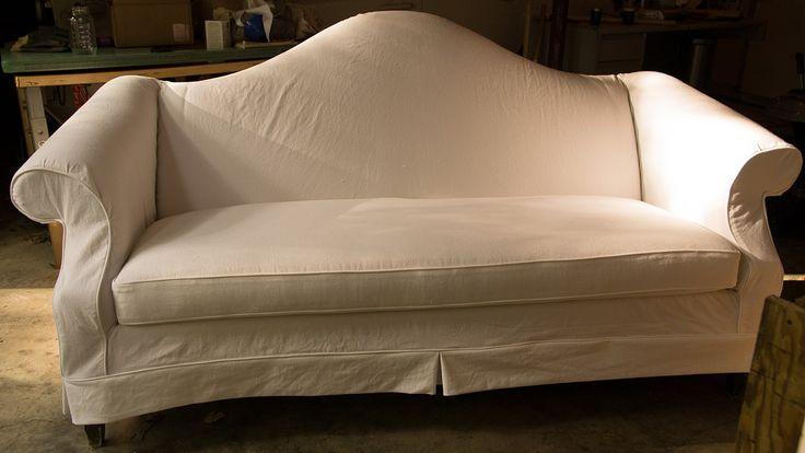 Camelback Sofa Slipcover Slipcovers Pinterest