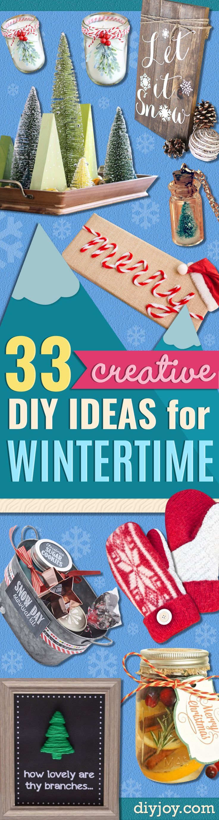 33 creative scrapbook ideas every crafter should know diy projects - 33 Creative Diy Ideas For Wintertime