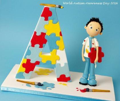 Création Modelage en porcelaine pour la journée mondiale de l'autisme