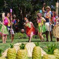 Luau Pineapple Bowling Game. Photo courtesy of PartyCity.com http://www.poolspaoutdoor.com/blog/entryid/96/pool-party-ideas-party-themes-decor-and-games.aspx