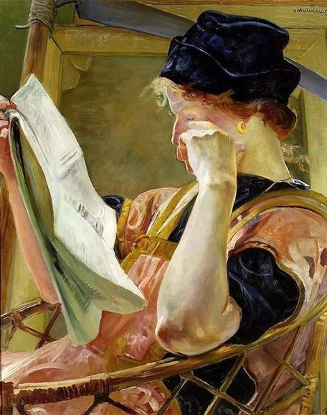 Jacek Malczewski (Polish painter) 1854 - 1929 , Model, 1907 on ArtStack #jacek-malczewski-polish-painter-1854-1929 #art