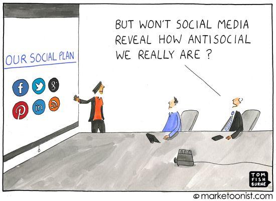 Social Media Can't Make an Antisocial Brand Social.