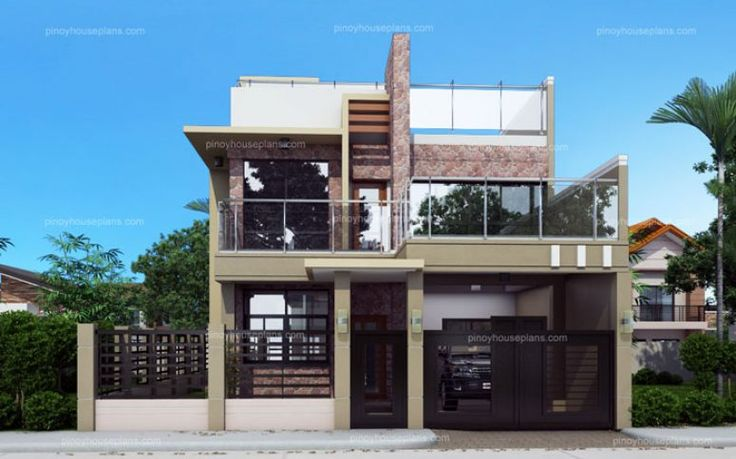 Celestino Is A 4 Bedroom House Plan That Can Be Built In 10 Meters Frontage Width