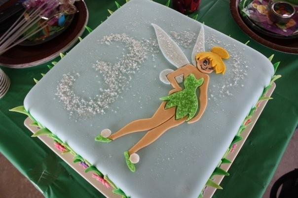 Fondant Tinkerbell Cake Topper. $18.00, via Etsy.
