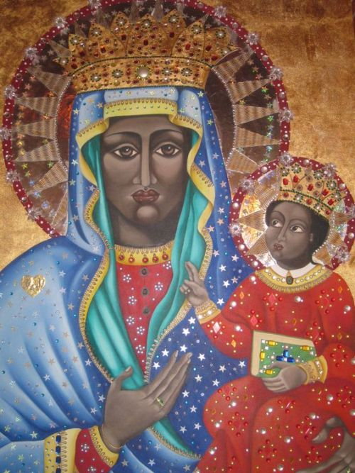 Images of Mary Seat of Wisdom