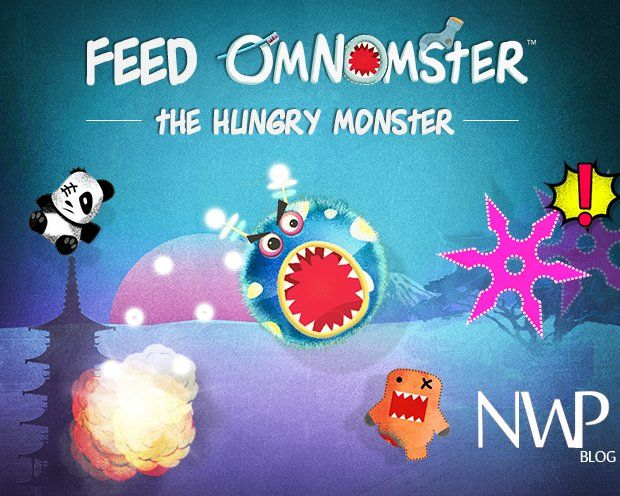 "No Buttons, Just Shake to Feed The Hungry Monster ""OmNomster "" - Nokia WP Blog"