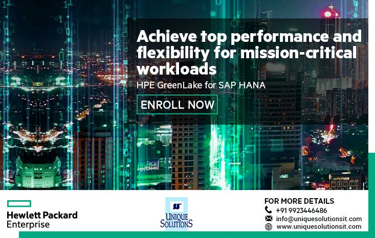 Hpe Greenlake For Sap Hana Offers An On Premises Appliance Operated By Hpe With The Right Sized Sap Certified Hardware Operat Supercomputer Cloud Storage Iot
