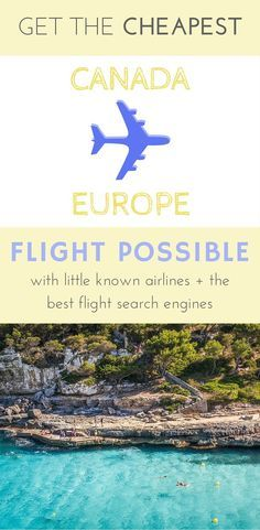 Little known airlines + the best search enginges for cheap flights Canada to Europe:  Want to have your travel paid for and know someone looking to hire top tech talent? Email me at carlos@recruitingforgood.com