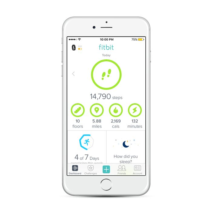 Track and analyze movement and fitness with the Fitbit App