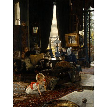 Reprodukcje obrazów James Tissot Hide Seek - Fedkolor