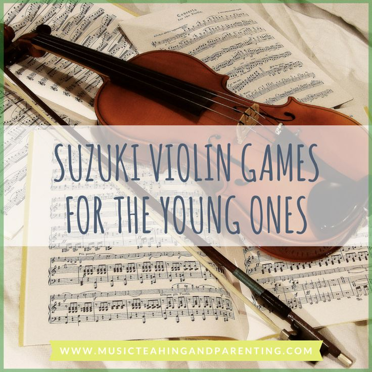 Suzuki violin kids learn best through practice games and repetition.The Suzuki violin practice games in this site never disappoint!