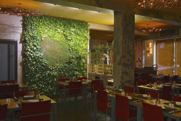 Yama Restaurant - Italy - #verticalgarden www.sundaritalia.com