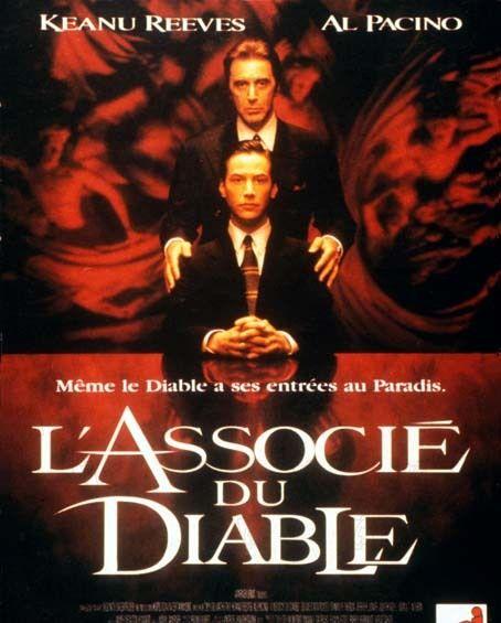 L'Associé du diable est un film de Taylor Hackford avec Al Pacino, Keanu Reeves. Synopsis : Kevin Lomax, jeune et brillant avocat de Floride, va perdre ses illusions quand un grand cabinet de New York va l'approcher et lui confier des affaire