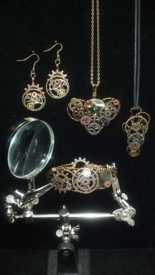 All Geared Up Collection! - Jewelry creation by kimberly newman