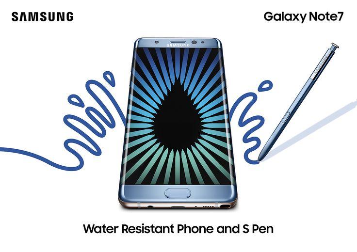 Unveiling the new Samsung Galaxy Note 7! #samsungmobilesg #commseq #StarHub #waterresistant #irisscan #android