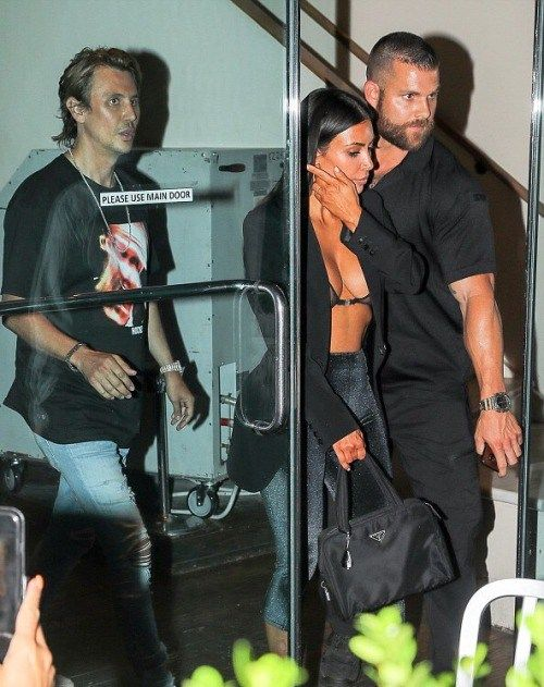 alldasheverything: Kim out in NYC with Jonathan Cheban July