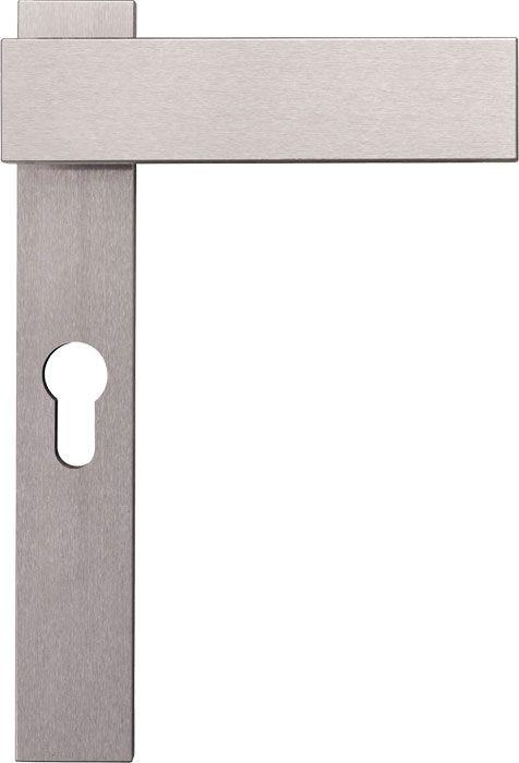 Reduktion auf Rechteck und Kreis: Hewi Türdrücker 185 Edelstahl