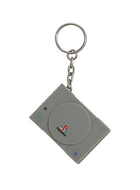 """Get some of that PlayStation power on your set of keys without having to lug the grey retro gaming box around with you all the time. You'll definitely be reminded of the days gone by of sneaking round in boxes, or jumping on TNT crates because this key ring looks exactly like the original Sony machine down to the memory card ports on the front!<br><ul><li style=""""list-style-position: inside !important; list-style-type: disc !important"""">Imported<br></li></ul>"""