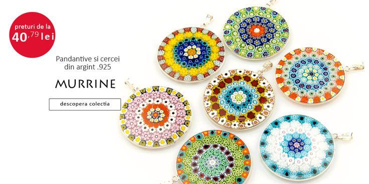 Bijuteriile din sticla de Murano sunt apreciate de femeile cu simt estetic rafinat si pun in valoare feminitatea, eleganta si delicatetea celei care le poarta. Realizate manual dupa tehnica maestri…