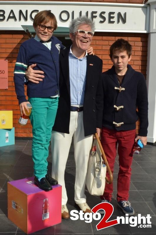 Benjamin, Federico y Federico Sanchez