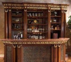Western Saloon Bar Western Saloon Style Dcor Home Bar